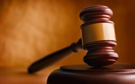 mazo de tribunal