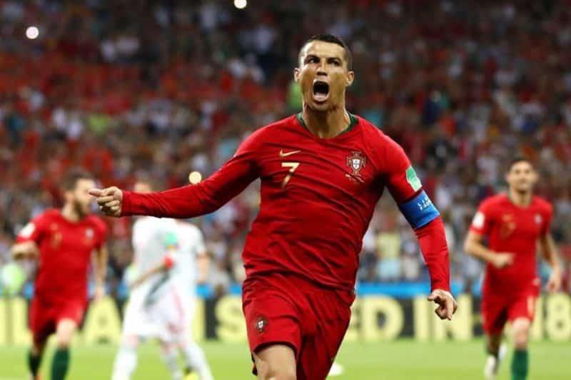 Portugal y España empatan con un hat-trick de Cristiano Ronaldo