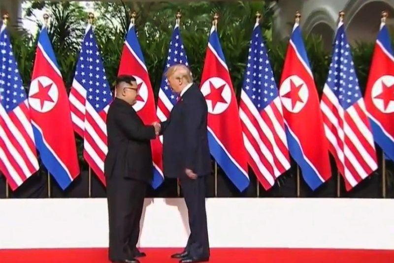 Singapur: Inicia cumbre entre Trump y Kim Jong Un