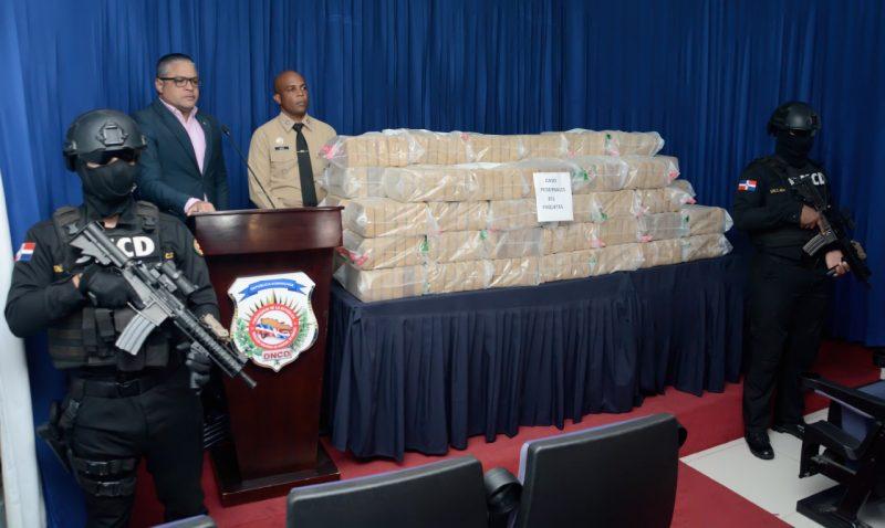 DNCD ocupa 351 paquetes de cocaína en Pedernales