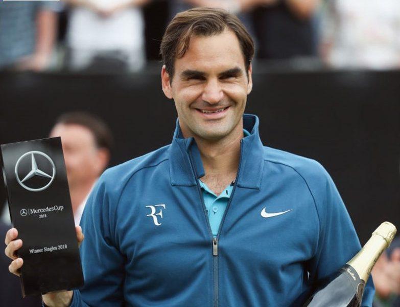 Federer gana torneo Stuttgart