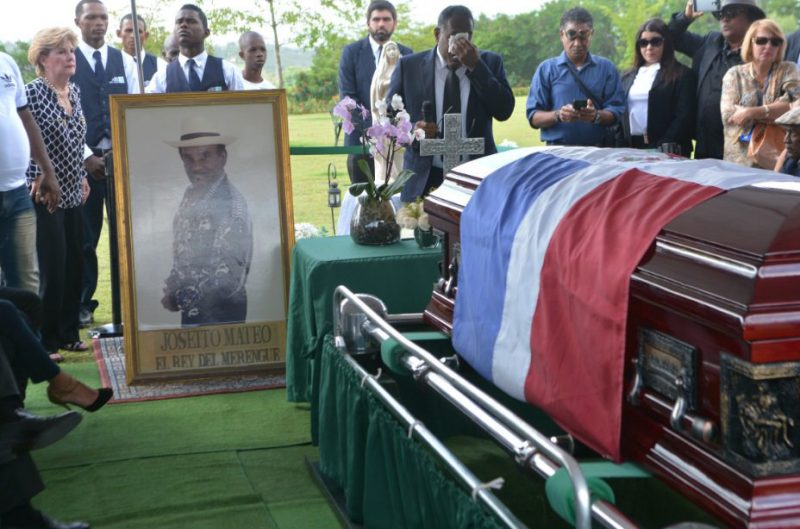 Gobierno declara duelo oficial por muerte Joseíto Mateo