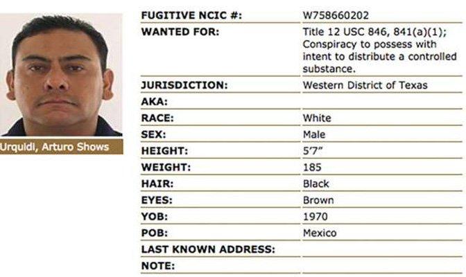 Supuesto miembro cartel Sinaloa extraditado a EEUU desde México
