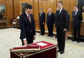 Pedro Sánchez jura su cargo de presidente del Gobierno España