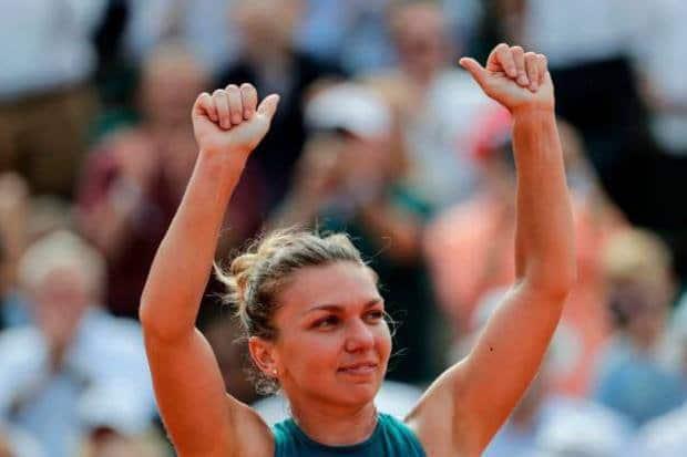 Simona Halep campeona de Roland Garros