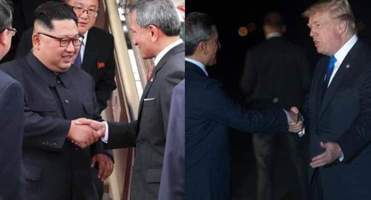 Trump y Kim Jong Un llegan a Singapur para la cumbre