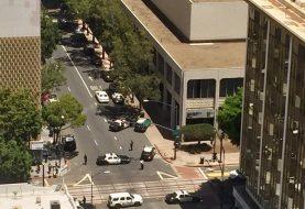 San Diego: Mujer arrestada al disparar cerca meta maratón