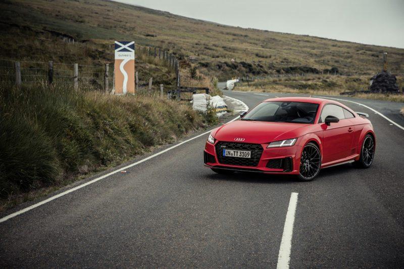 La nueva gama Audi TT una edición especial en su 20 aniversario