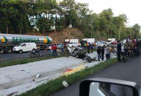Bonao: Un muerto y tres heridos en accidente próximo a Jacaranda hoy