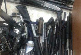 Incautan 91 armas de fuego a negocio de seguridad privada