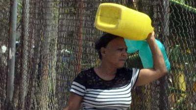 Sectores Santiago y Villa González sin agua potable