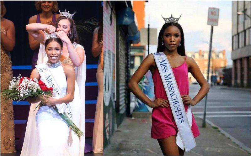 Dominicana es primera mujer de color coronada Miss Massachusetts 2018