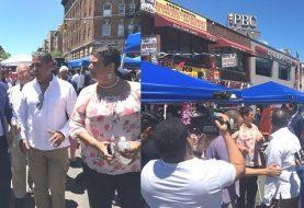 Inauguran feria vendedores ambulantes en el Alto Manhattan