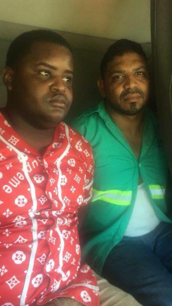 Coerción implicados caso droga camión Kola Real