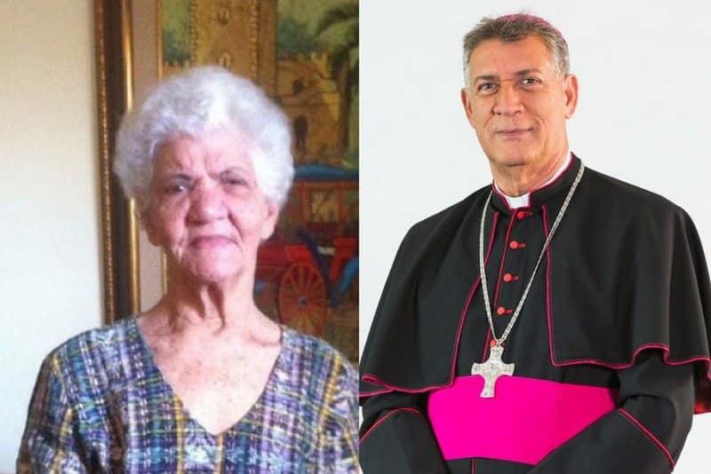 Fallece madre de monseñor Diómedes Espinal
