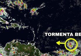 Depresión se convierte en tormenta tropical Beryl