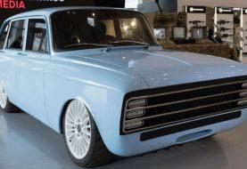 Kalashnikov presenta un auto eléctrico