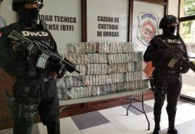 DNCD ocupa 133 paquetes de cocaína
