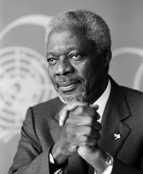 Fallece el Premio Nobel de la Paz, Kofi Annan