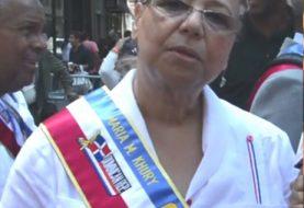 Dominicanos NY piden renuncia María Khury del desfile