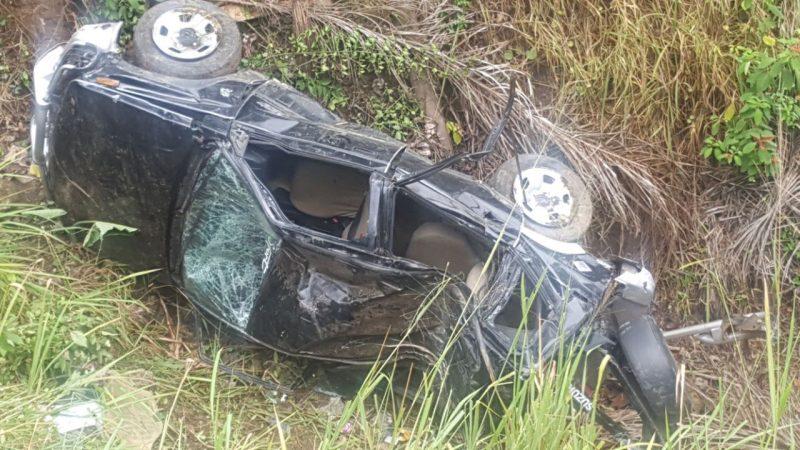 Dos muertos y un herido en carretera que comunica a Jánico