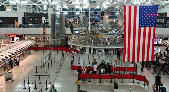 Nueva modalidad chequeo aeropuerto Kennedy Nueva York