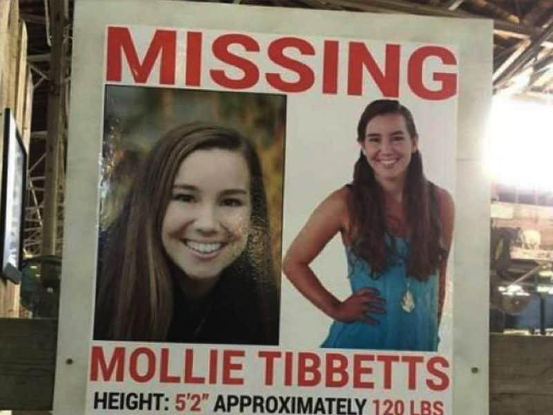 Cadáver de Mollie Tibbetts presentaba heridas de cuchillo