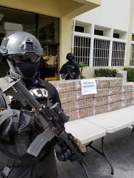 DNCD ocupa más de 200 kilos de cocaína