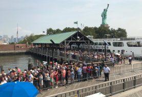 Liberty Island evacuada por fuego