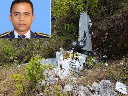 Muere piloto accidente avión militar RD en Elías Piña