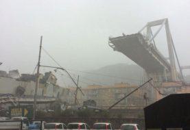 Varios muertos al derrumbarse viaducto autopista Italia
