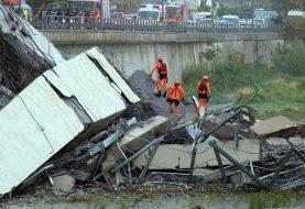 Se elevan a 39 los muertos derrumbe puente Génova