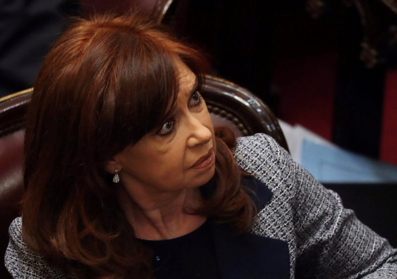 "Cristina Kirchner por ""cuadernos de la corrupción"""