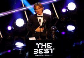 Seleccionan croata Luka Modric mejor jugador de futbol del año