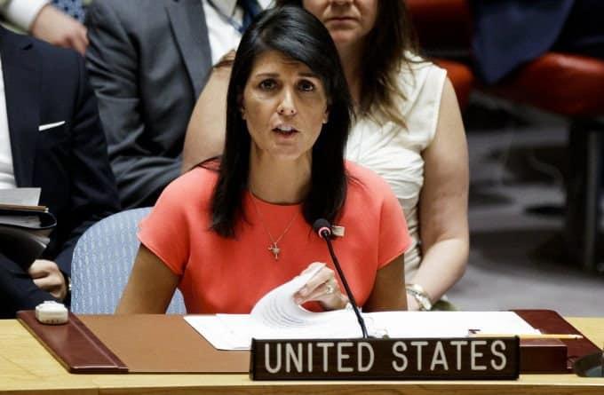 Embajadora EEUU en la ONU acusó a Diosdado Cabello de narcotráfico