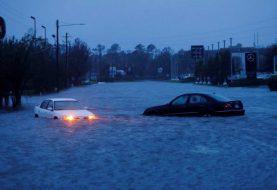 Temen desbordamientos de ríos por lluvias de Florence
