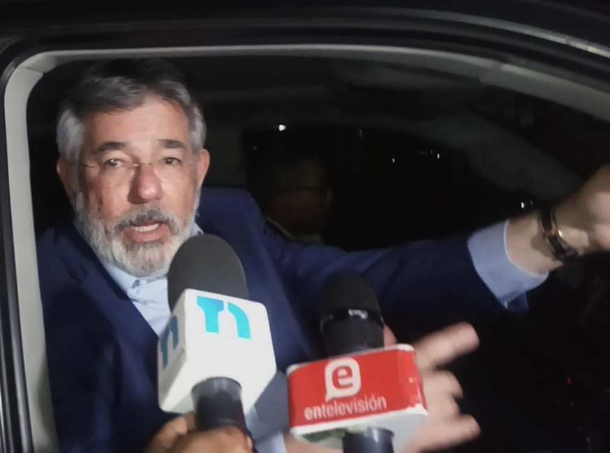Díaz Rúa regresó de España