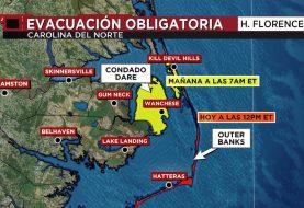 En tres estados de EEUU se preparan por huracán Florecen