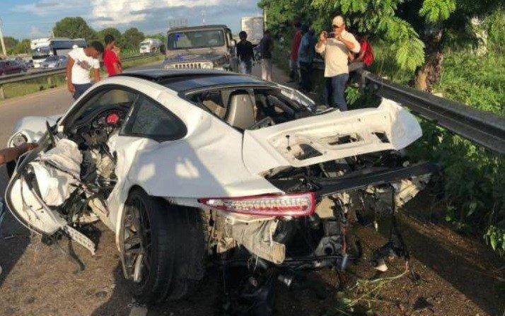 Fernando Rainieri sufre accidente Autovía del Este