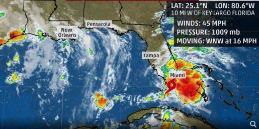 Se forma la tormenta tropical Gordon