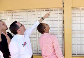 Supervisan escuelas afectadas por sismos