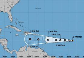 Isaac es un huracán categoría 1