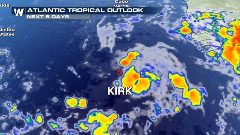 Kirk se debilita a depresión tropical
