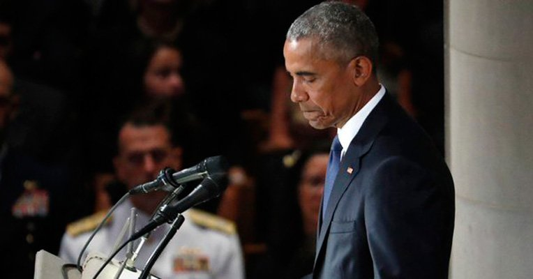 Obama recuerda reuniones privadas con McCain