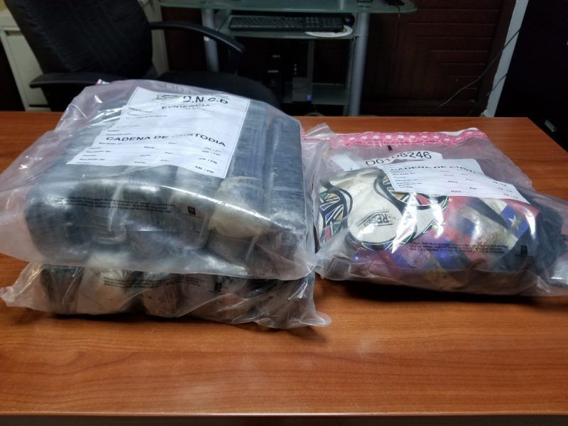 DNCD ocupa 12 paquetes de cocaína puerto multimodal caucedo