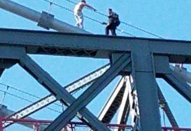 Hombre intentó saltar del puente de Williamsburg