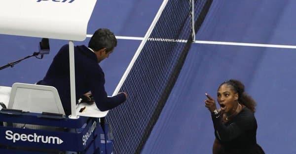 Serena Williams multada con US$17 mil dólares