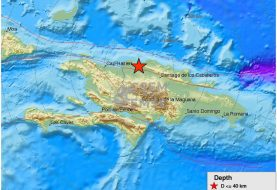 Tres sismos se registraron la madrugada de hoy en Montecristi