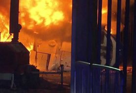 Helicóptero del presidente de Leicester City se estrella