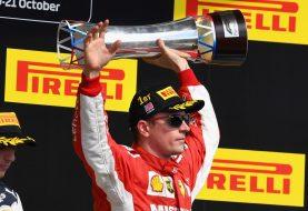 Kimi Raikkonen gana el GP de los EE. UU.